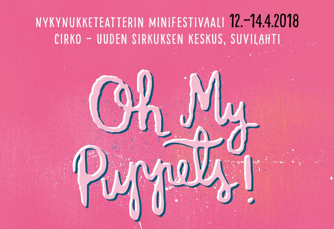 Nykynukketeatterin minifestivaali Helsingissä 2018