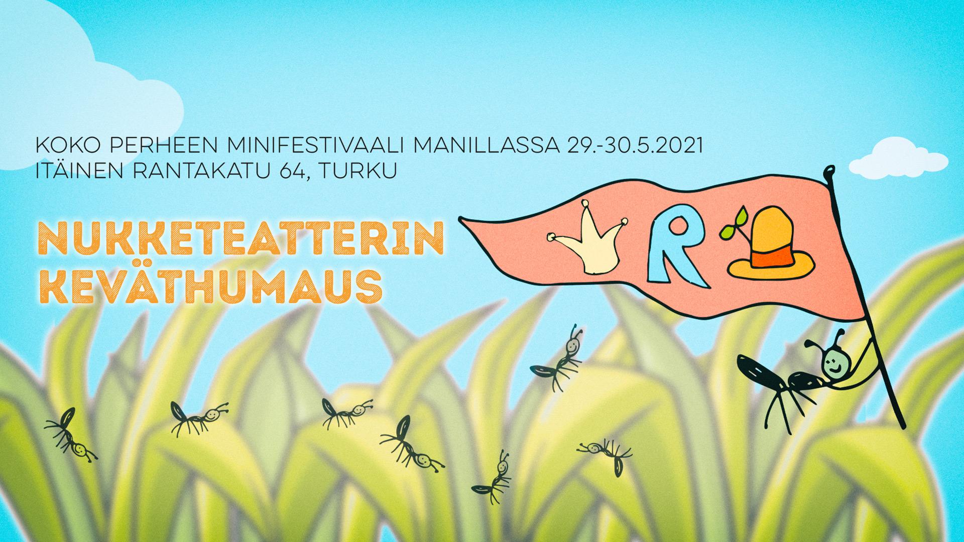 Manillaan nousee kevään kunniaksi kaksipäiväinen koko perheen minifestivaali 29.-30.5.2021
